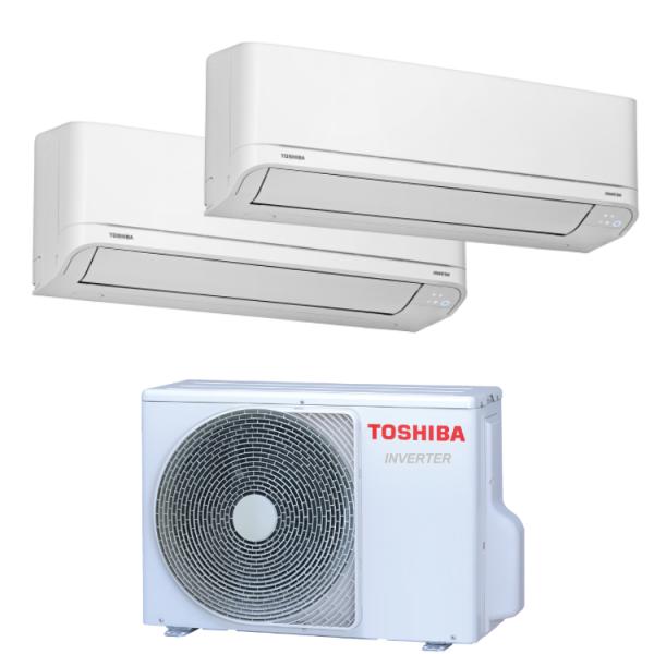 Sistema Dual split Toshiba...