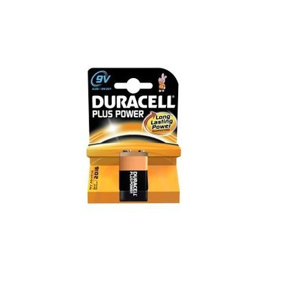 "BATTERIA DURACELL PLUS POWER ""TRANSITOR"" 9V"