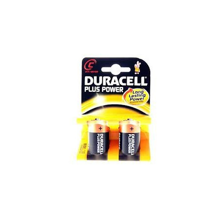 "BATTERIA DURACELL PLUS POWER ""MEZZA TORCIA"" 1.5V"