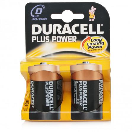 """BATTERIA DURACELL PLUS POWER """"TORCIA"""" 1.5V"""