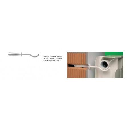 Mensole per radiatori in alluminio