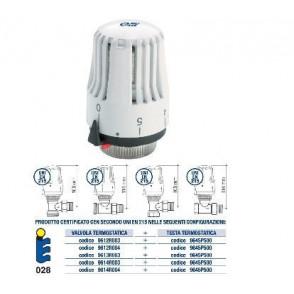 FIV/EMMETI Sensor Testa di regolazione termostatica