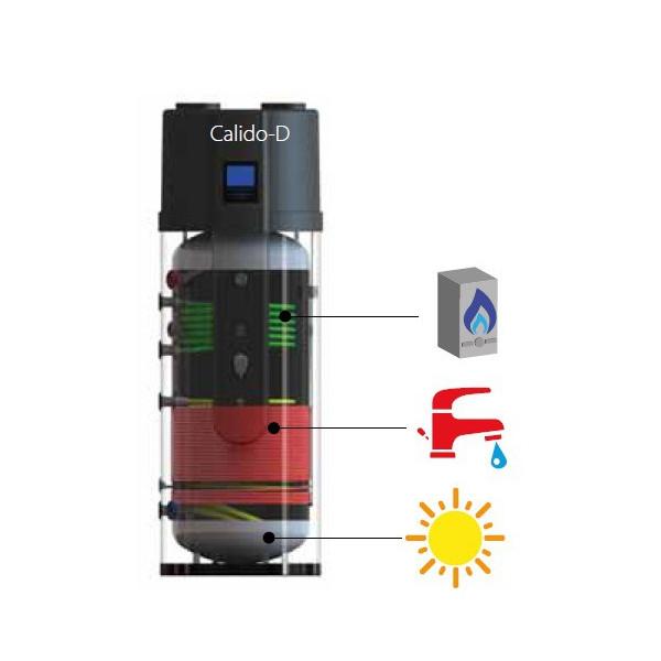 Scaldabagno a pompa di calore maxa con 2 serpentini ausiliari - Scaldabagno pompa di calore ariston ...