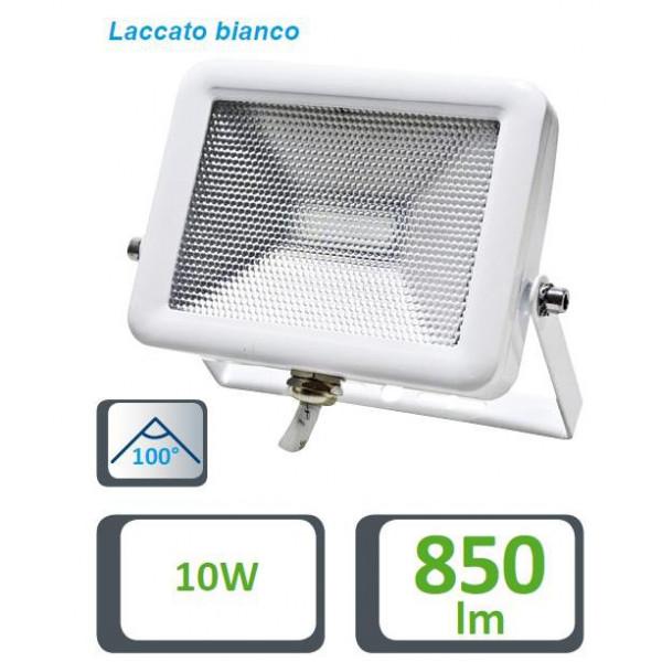 FARETTO LED SLIM BIANCO IP65, 10W