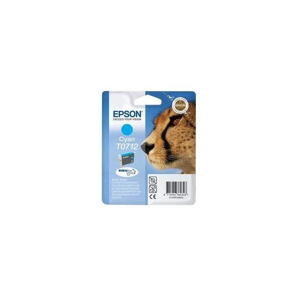 CARTUCCIA EPSON ORIGINALE T0712 CIANO