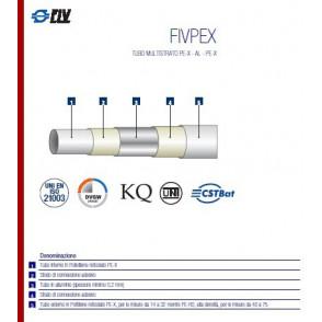 Tubo multistrato da 20 nudo FIVPEX