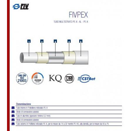 Tubo multistrato da 26 nudo FIVPEX