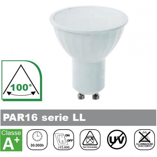 LAMPADA LED, 6500K, 450lm, 5W, LUCE FREDDA