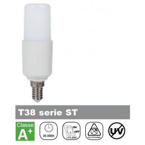 LAMPADA LED 8W, LUCE FREDDA, TUBOLARE, 750lm