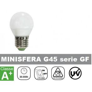 LAMPADA LED 6W, MINISFERA, 500lm, 400K, LUCE NATURALE