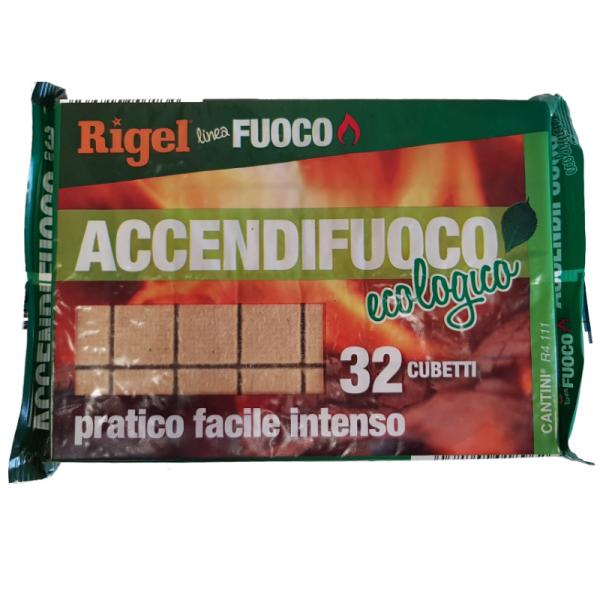 ACCENDIFUOCO ECOLOGICO RIGEL